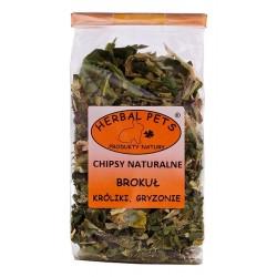 Herbal Pets Chipsy naturalne BROKUŁ