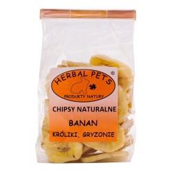 Herbal Pets Chipsy naturalne BANAN
