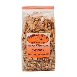 HerbalPets CHIPSY naturalne CYKORIA dla Królików i Gryzoni